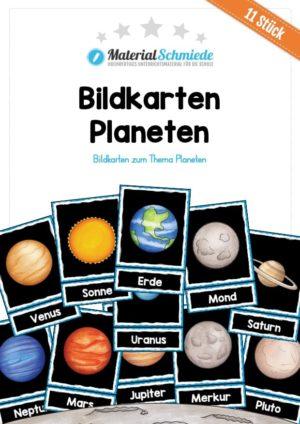Bildkarten: 11 Planeten