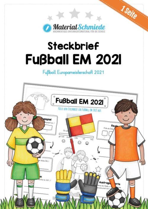 Steckbrief zur Fußball EM 2021