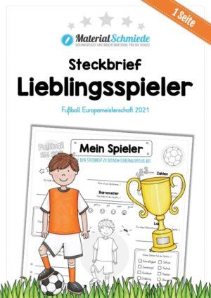 Steckbrief Fußball EM 2021: Mein Lieblingsspieler
