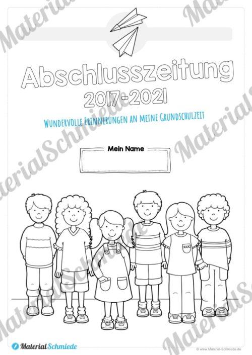 Abschlusszeitung Grundschule (Vorschule 01)