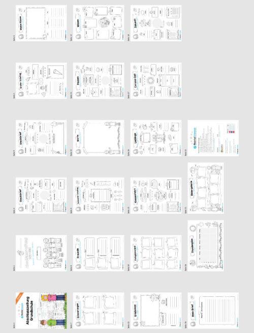 Abschlusszeitung Grundschule (Überblick)