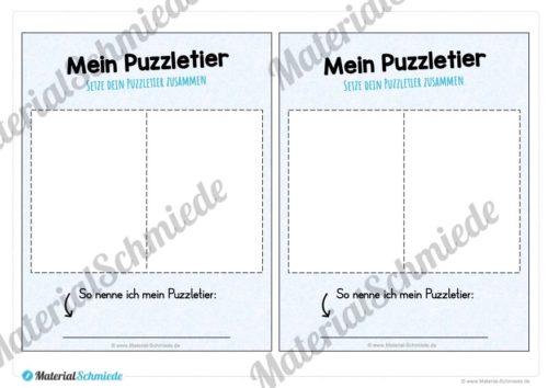 Legematerial Puzzletiere (Vorschau 05)