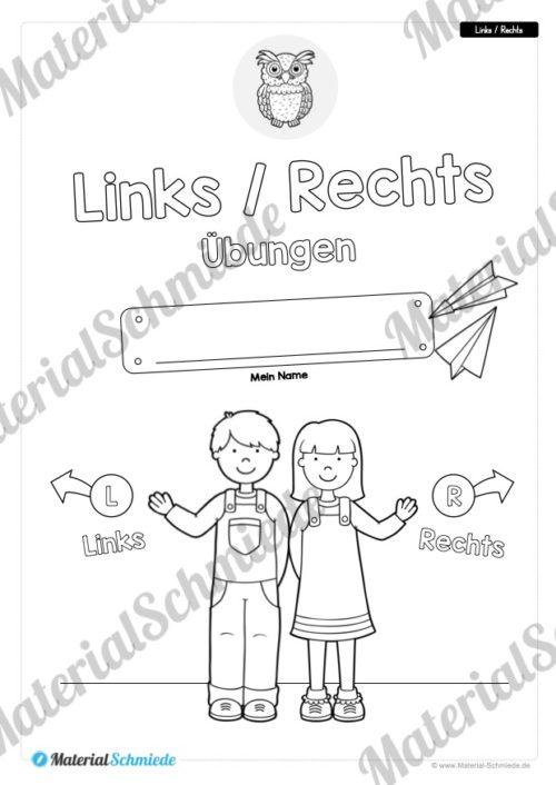 10 Links/Rechts-Übungen für die Vorschule (Vorschau 01)