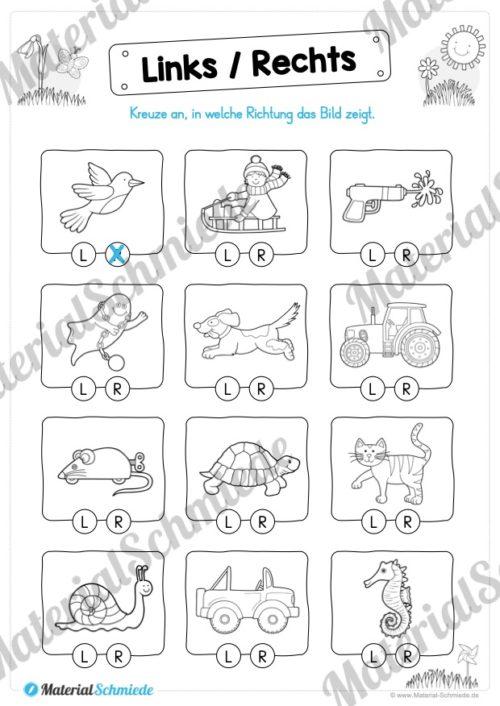 MaterialPaket Vorschule - 15 Übungen für Kinder (Vorschau 03)
