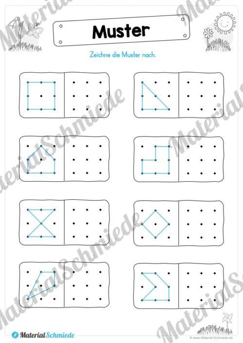 MaterialPaket Vorschule - 15 Übungen für Kinder (Vorschau 05)