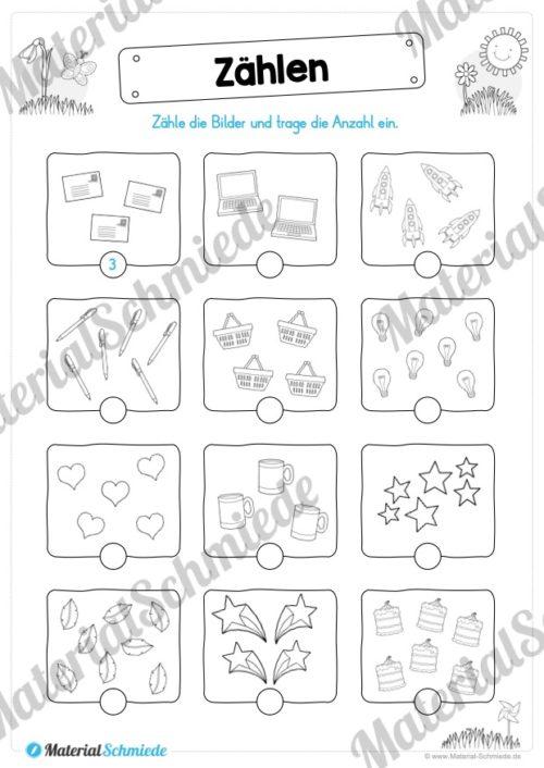 MaterialPaket Vorschule - 15 Übungen für Kinder (Vorschau 07)