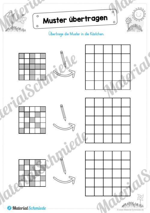 MaterialPaket Vorschule - 15 Übungen für Kinder (Vorschau 08)