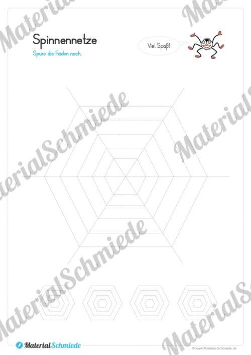 Materialpaket Schwungübungen - 20 Seiten (Vorschau 01)