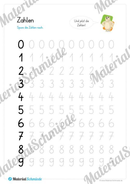 Materialpaket Schwungübungen - 20 Seiten (Vorschau 05)
