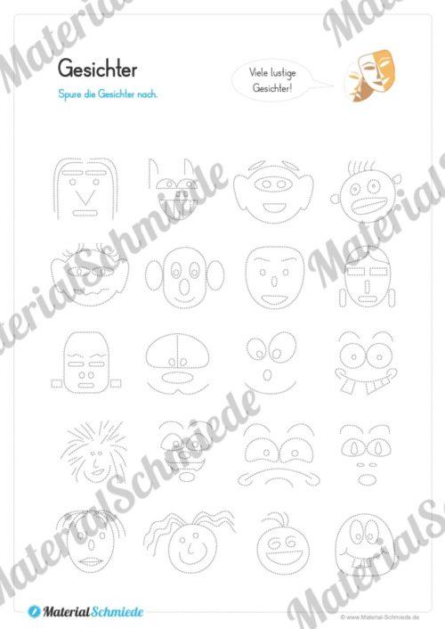 Materialpaket Schwungübungen - 20 Seiten (Vorschau 07)