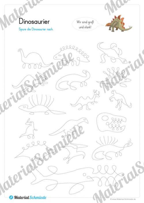 Materialpaket Schwungübungen - 20 Seiten (Vorschau 08)