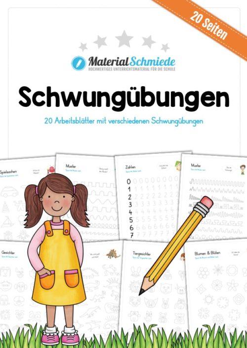 Materialpaket Schwungübungen (20 Seiten)